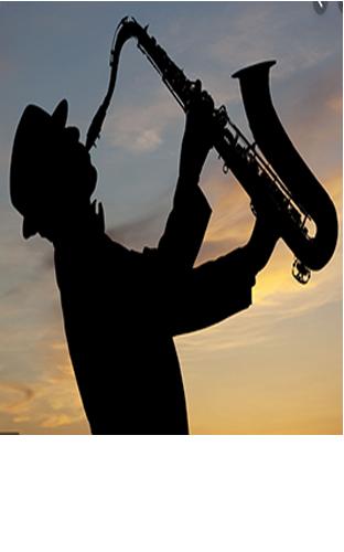 Saxofonista inspirado